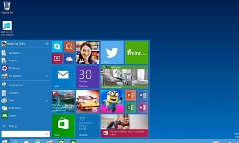 Windows 10: zadnja verzija operacijskega sistema je na tržišče so prišla v letošnjem letu.