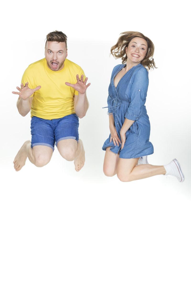 Robert Roškar in Anja Ramšak