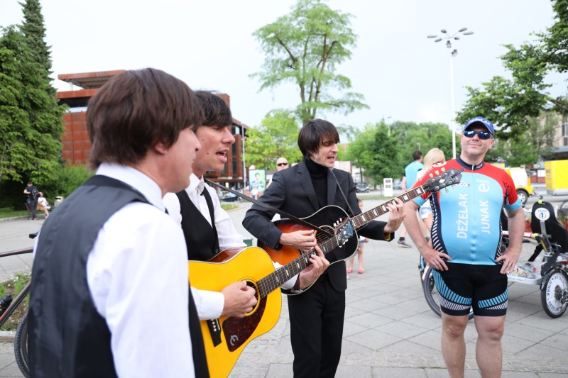 Slovenski Beatli prišli podpreti Miho