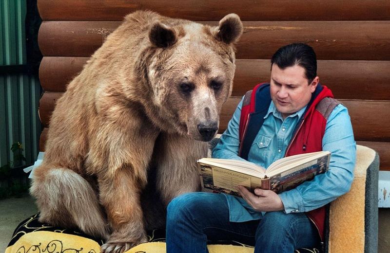 Stepan ima rad knjige.
