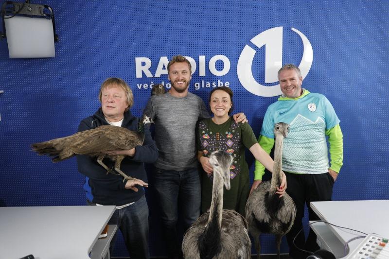 Radio 1 je postal pravi živalski vrt