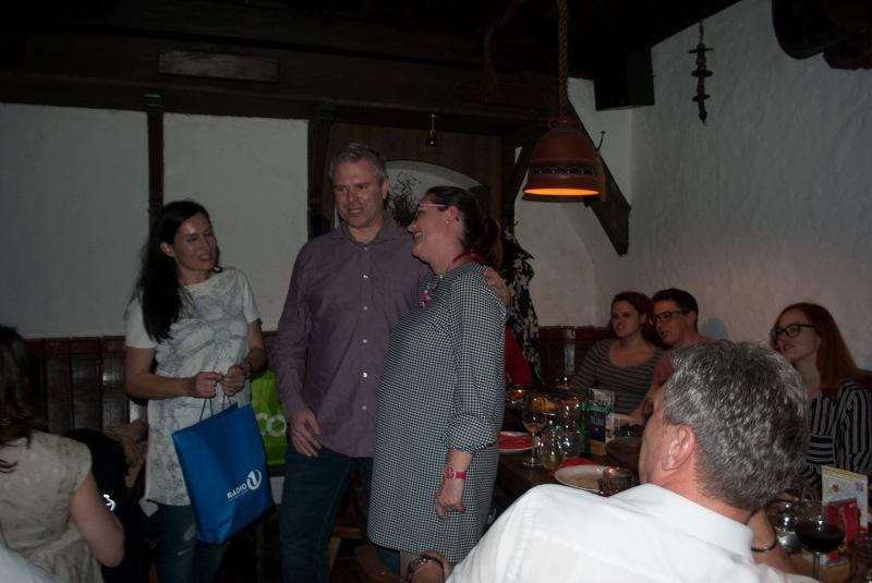 Poslušalci Radia 1 in ekipa Avto Lovše so se skupaj z nekaterimi iz ekipe Radia 1 družili ob večerji v gostilni Sokol!
