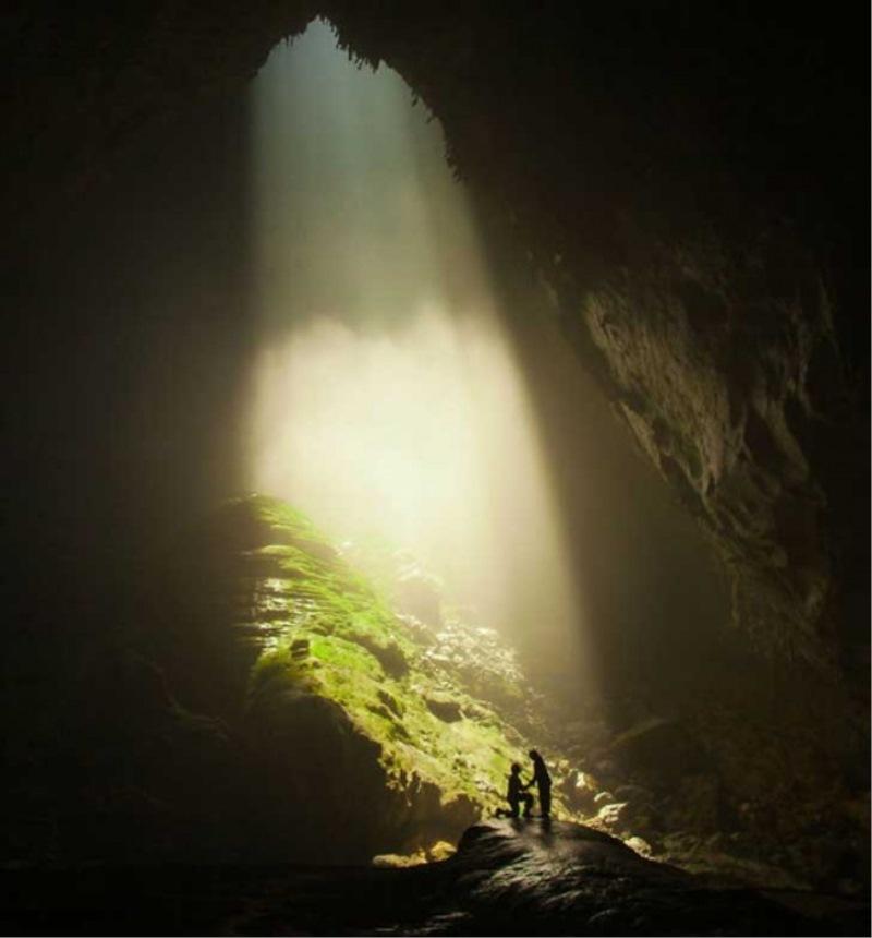 V notranjosti največje jame tega sveta. Božansko!