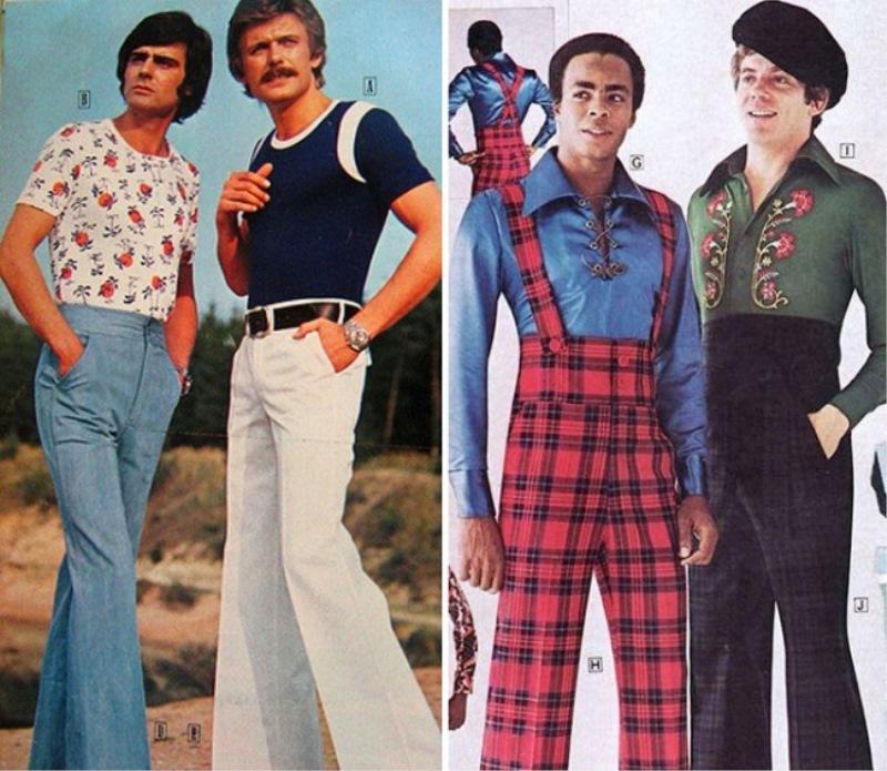 Moška moda iz 70-ih.