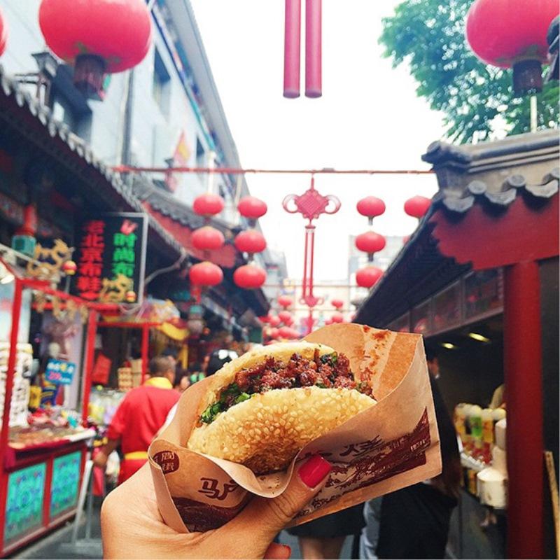 Burger Donkey, Kitajska