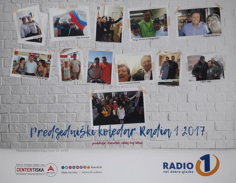 Ekskluzivna izdaja: Pahorjev koledar