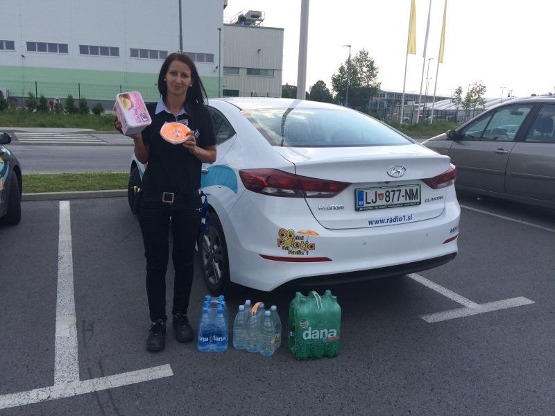Nagrajenka Irena, Novo mesto