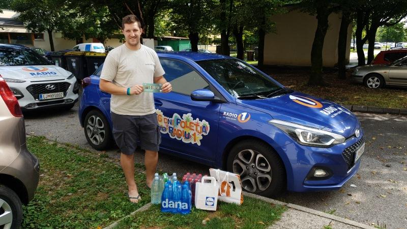 Nagrajenec Grega iz Ljubljane