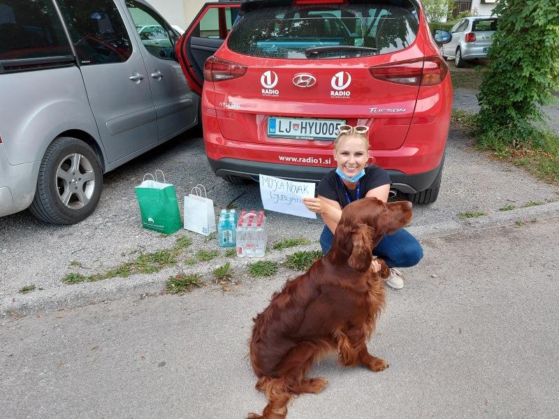 Osvežilni paket za Mojco Novak (Ljubljana)