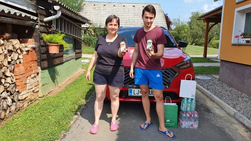 Nagrajenka Maja iz Jankovičev