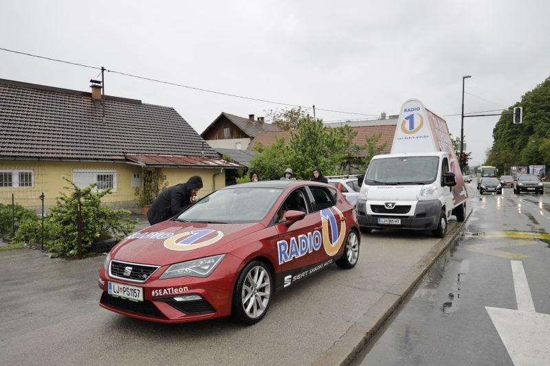 Denis Avdić je lovil voznike po Ljubljani