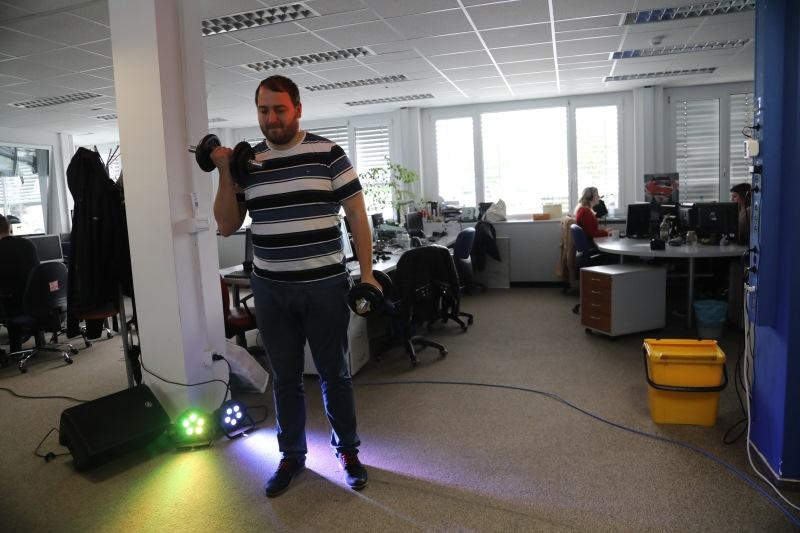 Andrej Čuš se je oglasil v studiu Radia 1!