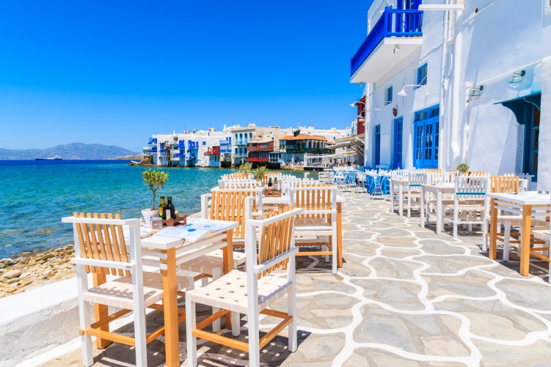 Grški otok Mykonos, ki očara