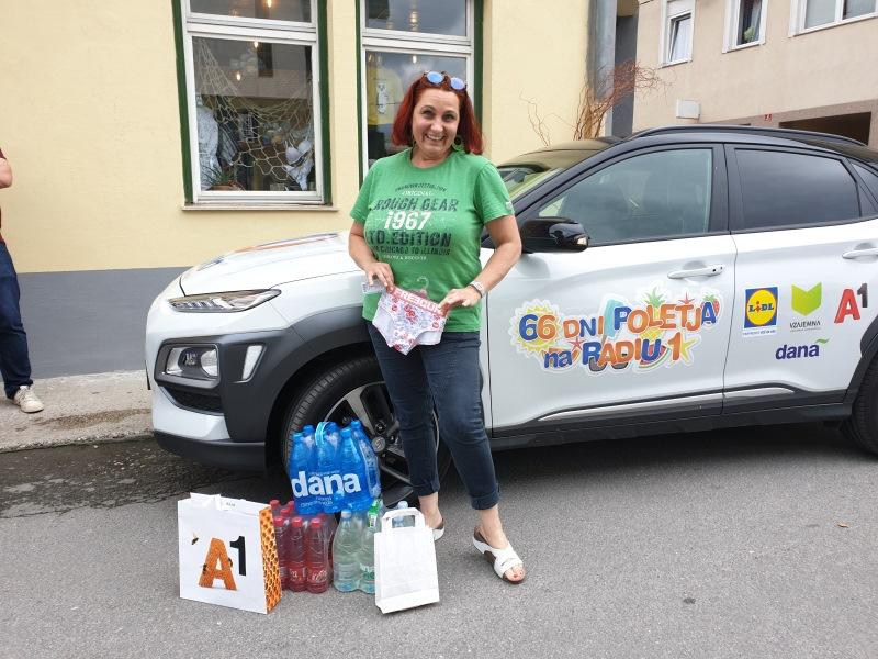 Nagrajenka Suzana iz Litije
