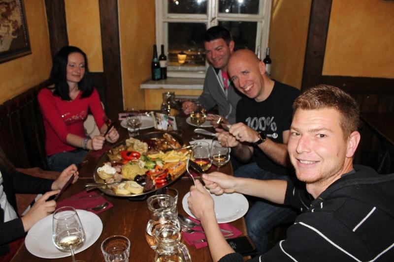 Facebook večerja v SOKOLU