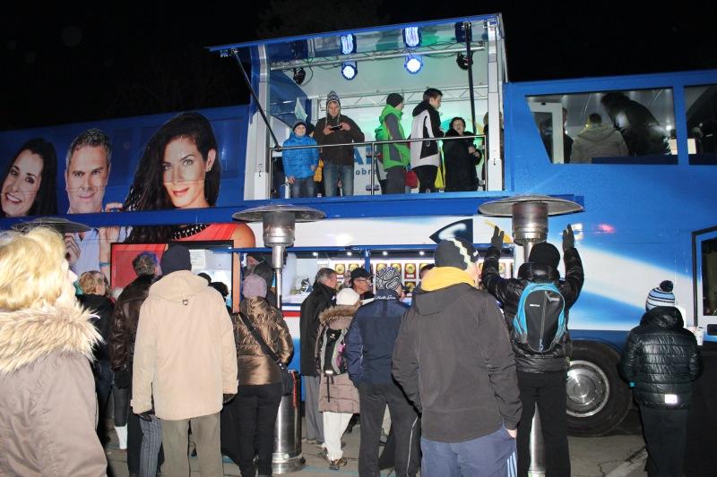 Dogajanje na Avtobusu Radia 1