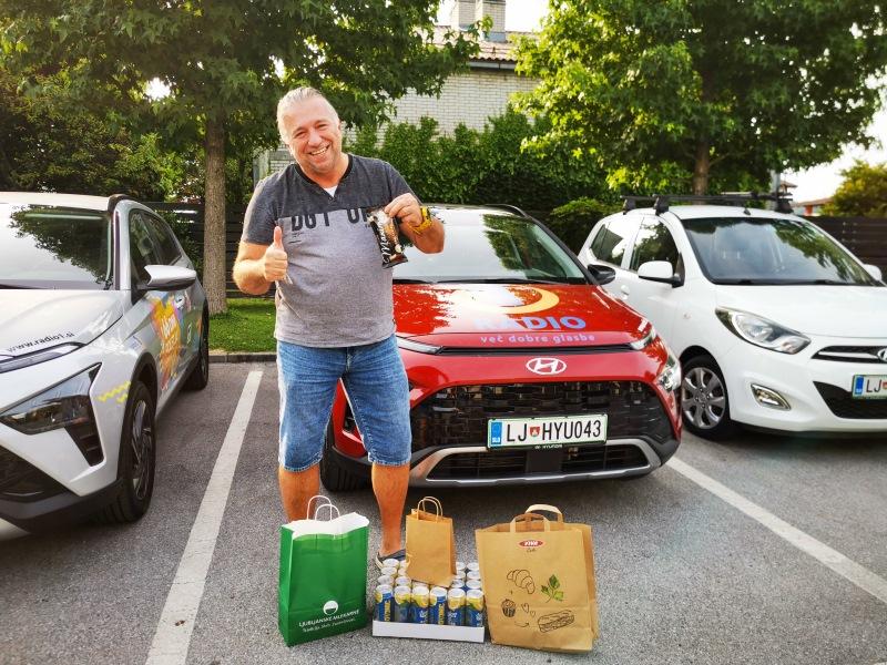 Sašo Sopotnik, dostavili na dom, Ljubljana