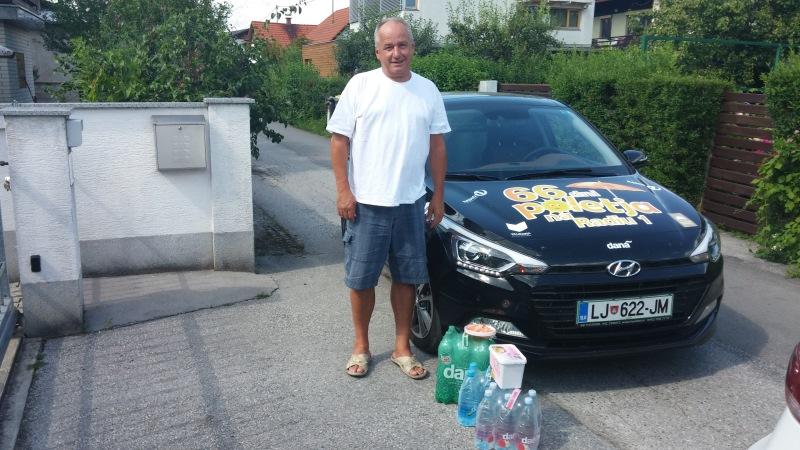 Nagrajenec Zoran iz Ljubljane