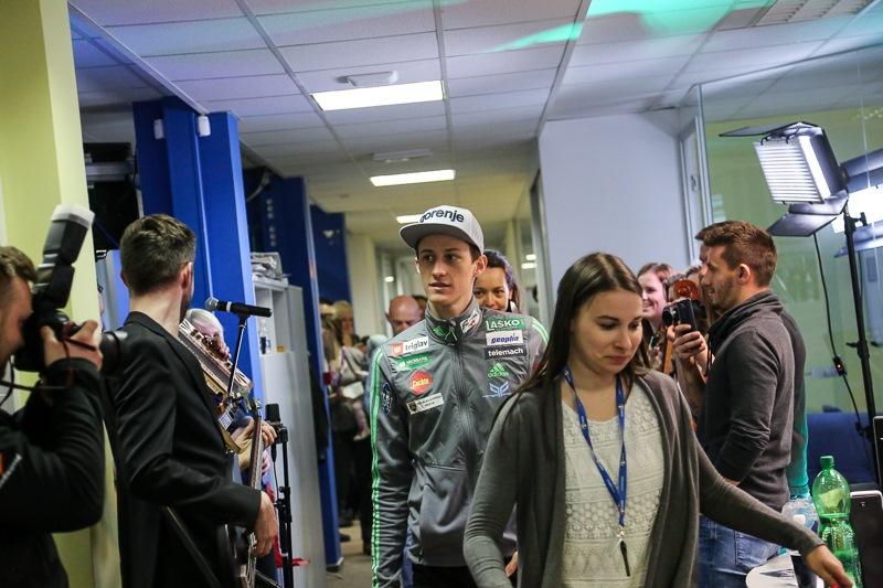 Peter Prevc je obiskal Radio 1.