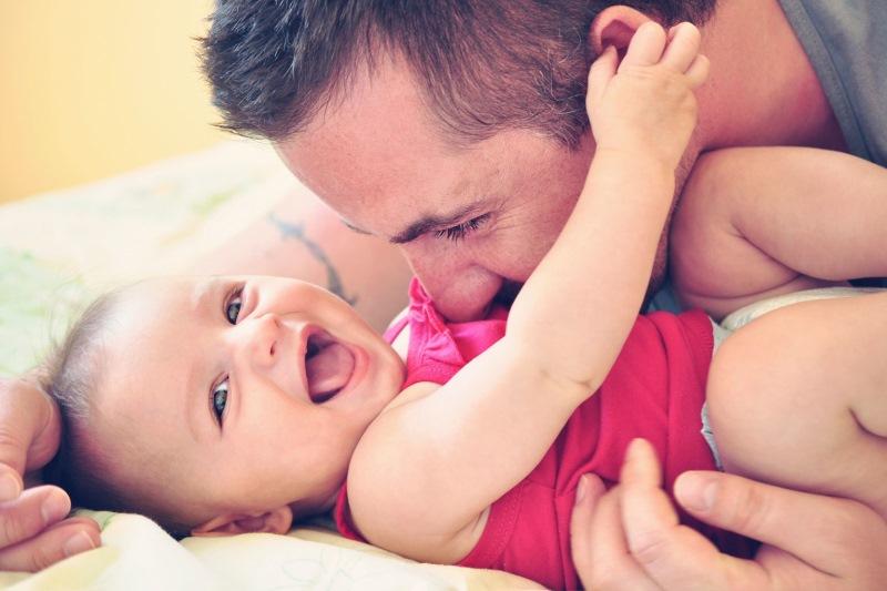 Očetje in dojenčki