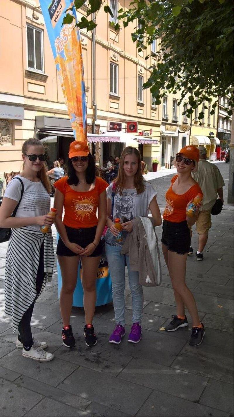Cuppy Pulpy osveževal po Sloveniji