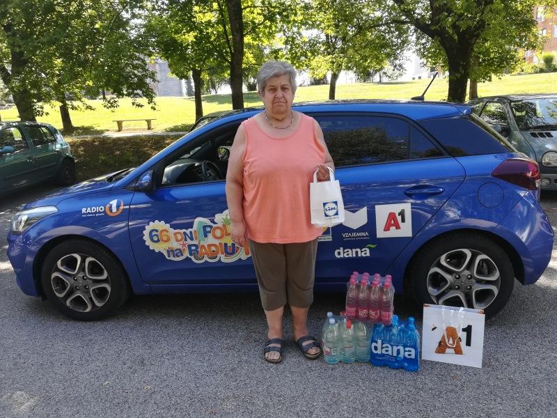 Nagrajenka Barbara je prejela paket osvežilnih pijač!