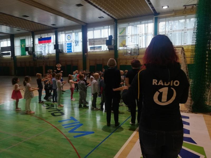 Nina je obiskala prvošolčke v Žalcu